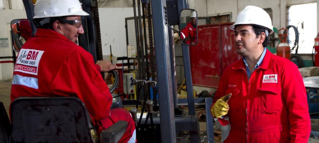 BM Inspecciones. Oil & Gas. Patagonia